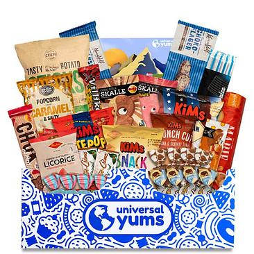 Universal Yums super yum box