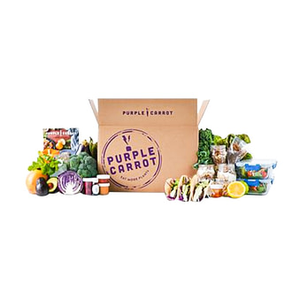 Purple Carrot plant-based meal kit delivery service