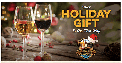 California Wine Club's holiday e-gift card