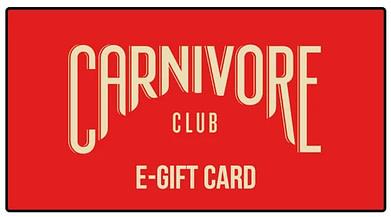 Carnivore Club's e-gift card