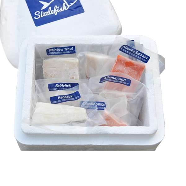 SizzleFish delivers vacuum-sealed packaging sea foods products