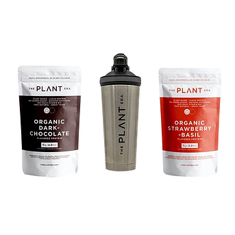 The Plant Era Organic Vegan Dark Chocolate Protein Powder delivery service