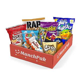 MunchPak's snacks delivery service