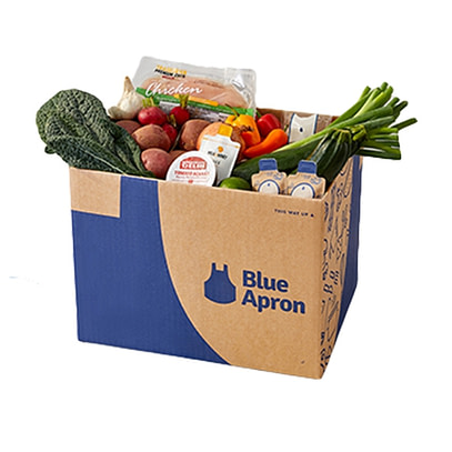 Blue Apron food delivery services