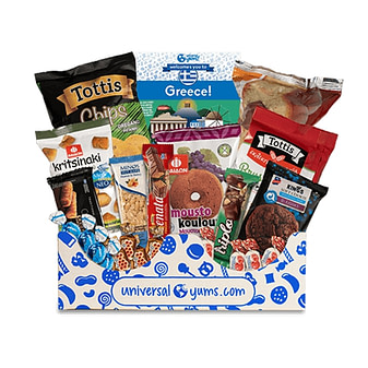 Universal Yums snacks subscription and delivery service