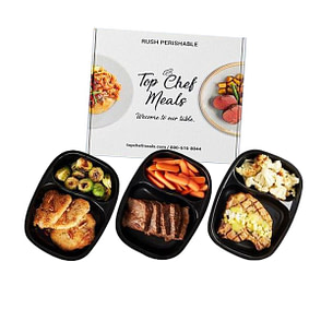 Top Chef Meal's Meal Delivery Service