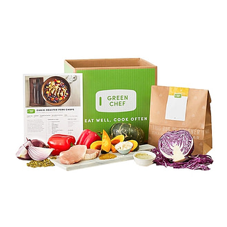 Green Chef's healthy & nutritious meal kits services