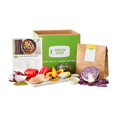 Green Chef healthy & nutritious meal kits services