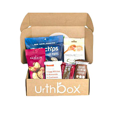 Urthbox snack food subscription and delivery services
