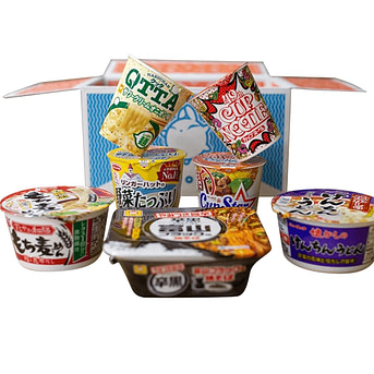 Zenpop Ramen Pack delivery service