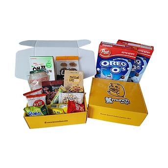 Kmunch korean snacks delivery service