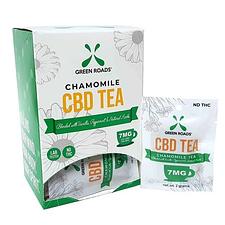 green roads - chamomile tea delivery service