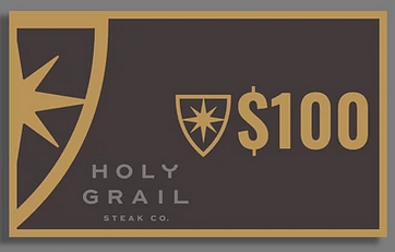 Holy Grail gift card