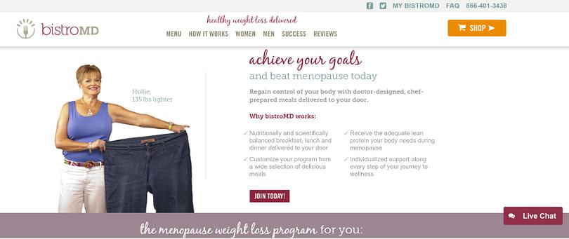 Menopause plan