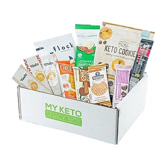 My Keto Snack Box delivery service