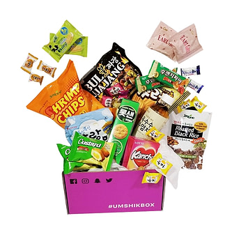 Umshikbox korean snacks delivery service