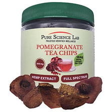 pure science lab - organic pomegranate tea chips product
