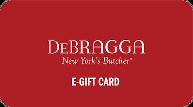 Debragga e-gift card