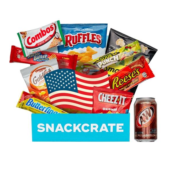 Snack Crate's unique snacks delivery service