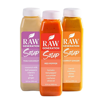 Raw Generation Soup delivery service
