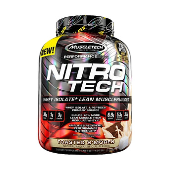 NitroTech 100% Whey Gold protein powder delivery service