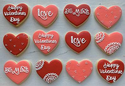 TheLittleBakerCo Valentine's Day Cookies