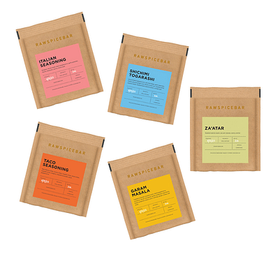 Raw Spice Bar's spice subscription gift