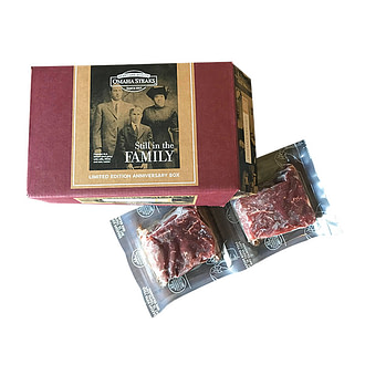 Omaha Steaks wide variety selections & gift packages