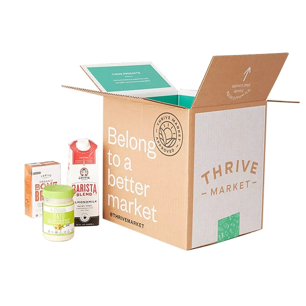 Thrive Market's Meal Delivery Service