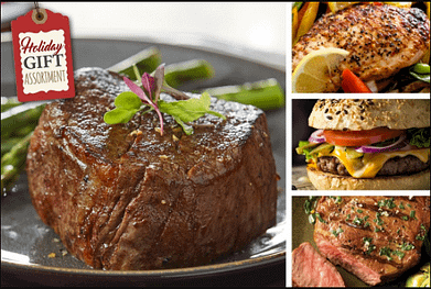 Chicago Steak Company's holiday gift assortment