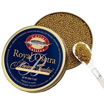 Browne Trading Company caviar delivery service
