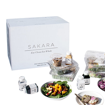 Sakara's meal delivery services