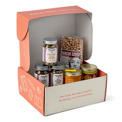 Taste of India Pantry Box