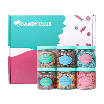 Candy Club's snack box delivery service