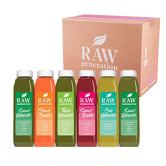 Raw Generation's Juice Delivery Service