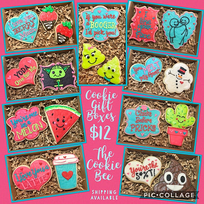 Valentine Cookie Gift Boxes