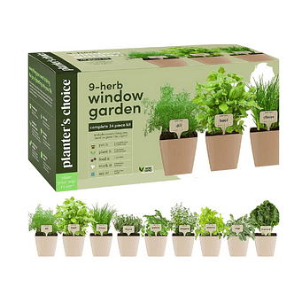 Planters' Choice 9-Herb Window Garden delivery service