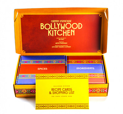 Bollywood Kitchen box with recipes