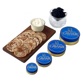 Russ & Daughters caviar delivery service