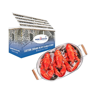 Maine Lobster Now  provide fresh seafood experiences and subscription boxes to people