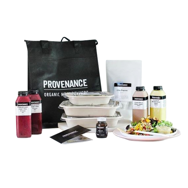 Provenance's Meal Delivery Service