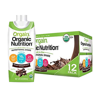 Orgain Organic Plant-Based Protein Powder delivery service