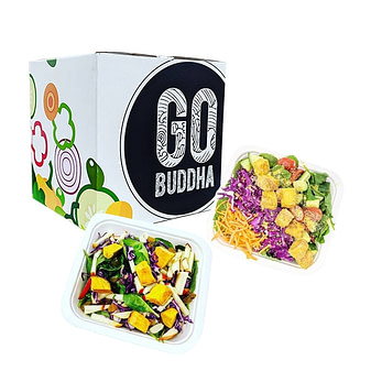 Go Buddha's vegan meal delivery service