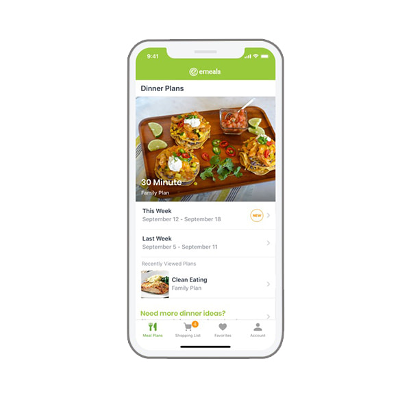eMeals' subscription and delivery service