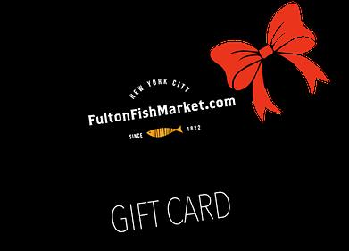 Fulton Fish Market gift card