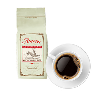 Amora Coffee subscription and delivery service