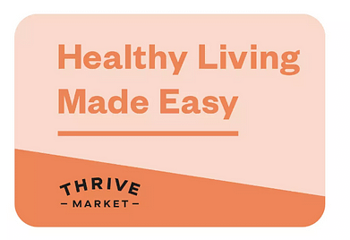 Thrive Market e-gift card